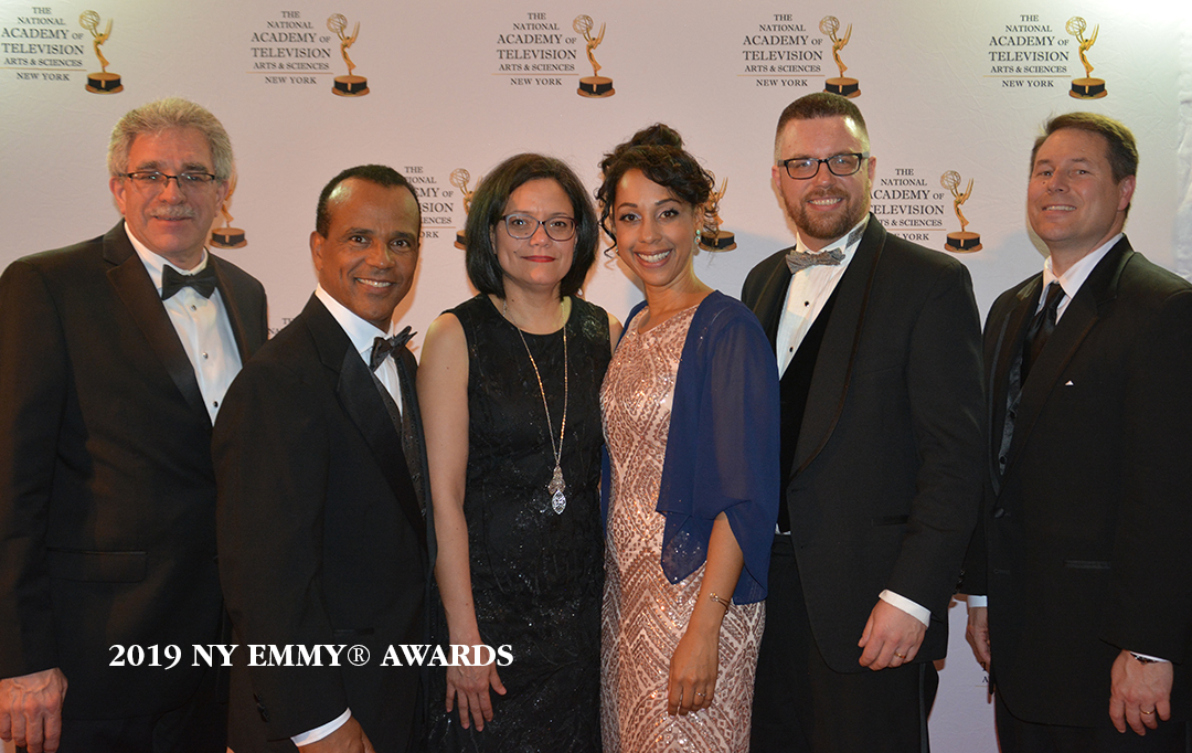 Waldo Cabrera and NVJN Celebrate their second Emmy® Nomination